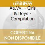 GIRLS&BOYS COMPILATION cd musicale di ARTISTI VARI