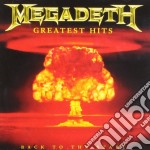 GREATEST HITS cd musicale di MEGADETH