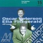 Oscar Peterson / Ella Fitzgerald - Radio Days Vol 15 cd musicale di Oscar peterson & ell