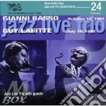 Jazz Live Trio Feat Basso/Lafitte - Radio Days Vol 24 cd musicale di Gianni basso/guy laf