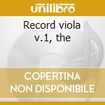 Record viola v.1, the cd musicale di Artisti Vari
