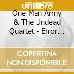 ERROR IN EVOLUTION + 3 BONUS TRACKS LIVE cd musicale di ONE MAN ARMY