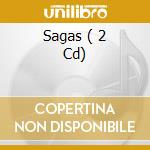 SAGAS  ( 2 CD) cd musicale di EQUILIBRIUM