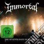 LIVE - CD+DVD                             cd musicale di IMMORTAL