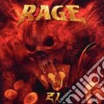 Rage - Twentyone cd musicale di Rage