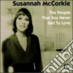 People that you never get to cd musicale di Susannah Mccorkle