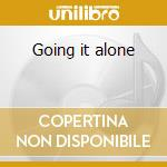 Going it alone cd musicale di Mcghee b / terry sonn