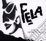 Fela kuti live in detroit cd musicale di Fela Kuti