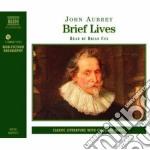Brief lives cd musicale di John Aubrey