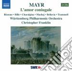 L'amor coniugale cd musicale di Simon Mayr
