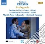 Fredegunda cd musicale di Reinhard Keiser
