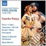 Sancho pan�a cd musicale di Philidor andr� danic