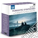 Great romantic symphonies - grandi sinfo cd musicale di Miscellanee
