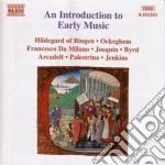 Introduzione alla musica antica: dal gre cd musicale