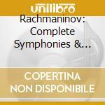 Sinfonie, concerti per pianoforte, rapso cd musicale di Sergei Rachmaninov