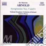 Symphonies nos.5 and 6 cd musicale di ARNOLD SIR MALCOM