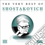 The very best of cd musicale di Dmitri Sciostakovic