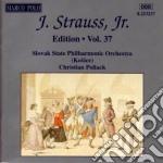 Edition vol.37: integrale delle opere or cd musicale di Johann Strauss