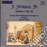Edition vol.38: integrale delle opere or cd musicale di Johann Strauss