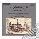 Edition vol.39: integrale delle opere or cd musicale di Johann Strauss
