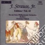 Edition vol.42: integrale delle opere or cd musicale di Johann Strauss