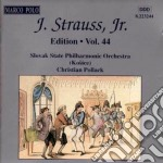 Edition vol.44: integrale delle opere or cd musicale di Johann Strauss