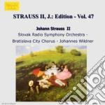 Edition vol.47: integrale delle opere or cd musicale di Johann Strauss