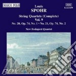 Quartetti x archi vol.9 (integrale): qua cd musicale di Louis Spohr