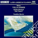 Quartetto x archi n.2, n.7 cd musicale di Villa lobos heitor