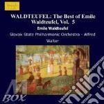 Le composizioni piu'popolari vol.5: valz cd musicale di Waldteufel