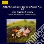 Suite x 2 pf n.1 > n.5 cd musicale di Arensky anton stepan