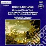 Opere orchestrali vol.21 marcia francese cd musicale di Ducasse Roger