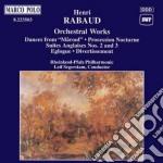 Opere orchestrali: marouf, processione n cd musicale di Rabaud