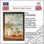 Coates Eric - Sleepy Lagoon, Springtime Suite, Saxo Rhapsody, Footlights Walz, 4 Ways Suite, 8 cd musicale di Eric Coates