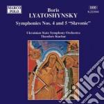 Sinfonia n.4 op.63, n.5 op.67