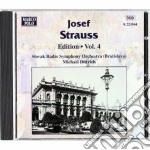 Edition vol. 4: danze op.59, 198, 218, 1 cd musicale di Josef Strauss