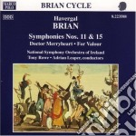 Sinfonia n.11, n.15, doctor merryheart, cd musicale di Havergal Brian