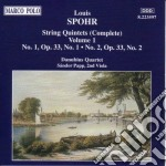 Quintetti x archi vol.1 (integrale): n.1 cd musicale di Louis Spohr