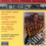 Colonne sonore da captain blood, scaram cd musicale