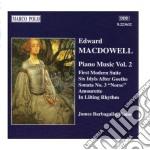 Musica x pf vol.2: prima suite moderna o cd musicale di Edward Macdowell