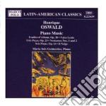 Oswald Henrique - Musica X Pf: Foglio D'album Op.20, Valse Lente, Tres Pecas Op.23, Notturno N.1 E  - Guimaraes Maria Ines  Pf cd musicale di Oswald