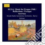 Musica per praga 1968, fresque, sinfonia cd musicale di Karel Husa