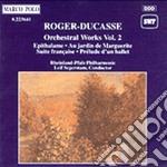 Opere orchestrali vol.2: preludio a un b cd musicale di Ducasse Roger