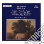 Sonata in sib min, pezzo x pf in do min, cd musicale di Bella