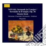 Serenata in fa mag x piccola orchestra, cd musicale di Novak