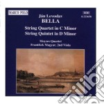 Quartetto x archi op.25, quintetto x arc cd musicale di Bella