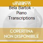 Trascrizioni x pf da brani x tastiera di cd musicale di Bartok