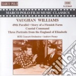 Musica da film: 49esimo parallelo, story cd musicale di Vaughan williams ral