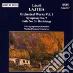 Laszlo Lajtha - Orchestral Works Vol.1 cd musicale di LÁszlÓ Lajtha