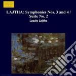 Sinfonia n.2 op.38, n.3 op.45, n.4 op.52 cd musicale di LÁszlÓ Lajtha